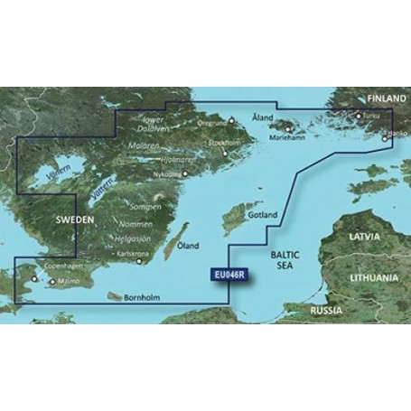 Garmin Bluechart G2 Hd Hxeu046r Sweden South East Sea Store Oy