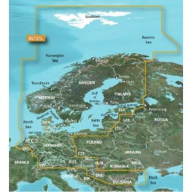 Garmin BlueChart g2 Vision HD, VEU721L Northern Europe